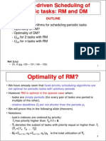 10 RM DM Scheduling of Periodic Tasks