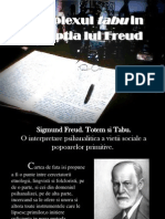 Complexul Tabu in Perceptia Lui Freud