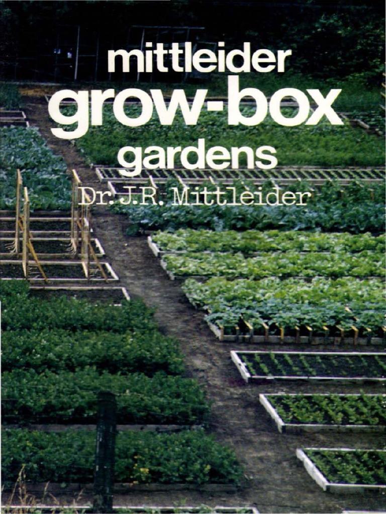 10 Mittleider Grow-BOX gardens .pdf | Fertilizer | Greenhouse