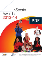 Chorley Sports Awards Entry 2014