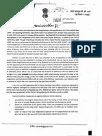 JP Nadda Correspondence