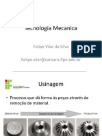 Tecnologia Mecanica aula 1 usinagem.pptx
