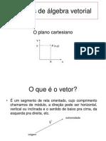 Aulas 4 a 8 - noções de álgebra vetorial (1).ppt