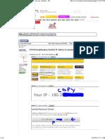 [TIPS]Menghilangkan Blacklist IP Address Di Spamhaus