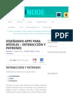 Diseñando apps para móviles – Interacción y patrones _ ITechNode.pdf