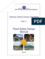 Revised Road Safety Design Manual - June 1, 2011