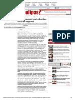 10-07-2014 'En educación, becas municipales hablan bien de Reynosa'.