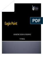 1 4 eagle point road design software manual contour line icon rh scribd com