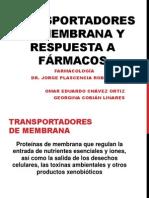 Transportadores de membrana y respuesta a fármacos (2).pptx