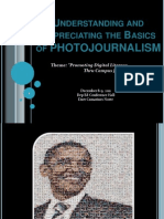 Understanding and Appreciating the Basics of PHOTOJOURNALIS