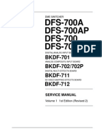 Sony Dfs-700a SERVICE Manual