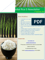 9th October,2014 Daily Global Rice E-Newsletter by Riceplus Magazine