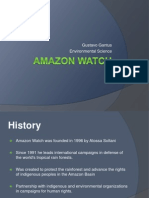 Amazon Watch Gustavo
