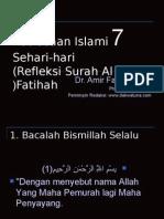 7 Kebiasaan Islami Sehari-hari
