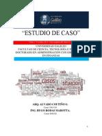 ESTUDIO DE CASO MAQUILA NORTE.