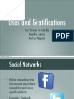 Uses and Gratifications ITESM
