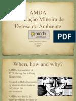 Associação Mineira de Defesa do Ambiente João.pptx