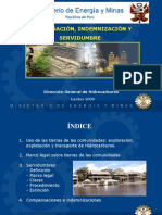 Exposición Direccion General de Hidrocarburos - Servidumbre y Compensaciones  .ppt