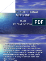 PRESENTASI ISLAMIC NUTRISIONAL MEDICINE