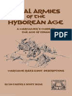 Royal Armies of the Hyborean Age