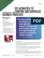 Acumatica Case Study_KFC