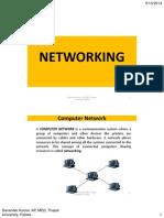 Networking data