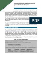 Interpretation Note on Small & Medium Enterprises