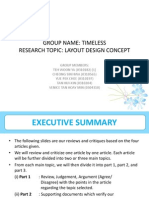 assignment 2 - research design report ppt group name - timeless