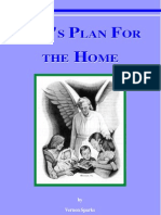 God's Plan For the Home
