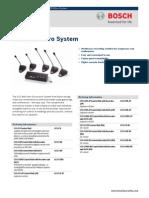 Bosch CCS800 UltroSyst DataSheet EnUS T5182976011