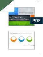 Sé PRODUCTIVO. Organiza reuniones eficaces.pdf