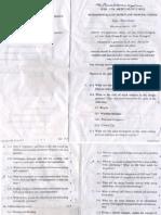 AMIE Sample Paper 1