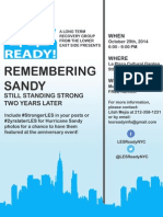 LES Ready! Remembering Sandy