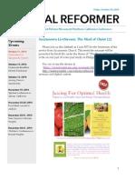 NorCal Reformer 49 (October 10, 2014)