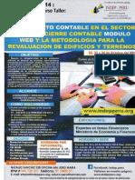 Seminario- Saneamiento contable en el sector público, cierre contable modulo web y la metodología para la evaluación de edificios y terrenos. 22--24 de Octubre 2014.pdf