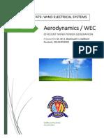 Aerodynamics and Efficiency of Wind Turbines