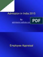 Admission in India
