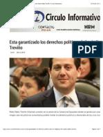 05-10-14 Esta garantizado los derechos políticos de los indígenas; dice Pedro Pablo Treviño | Circulo Informativo.pdf