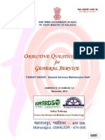 Objective Question Bank for General Services(1)