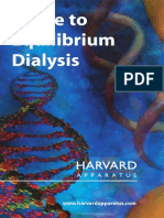 Guide to Equilibrium Dialysis