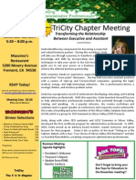 nov 13 meeting notice - linda mcfarland - transforming the relationship between the executive and the assistant