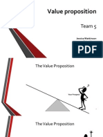 10 Min Topic - Value Proposition