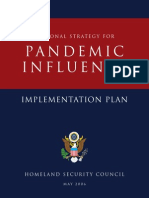 Nat ional Strategy for pandemic influenza