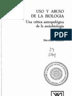 MARSHALL SAHLINS, USO Y ABUSO DE LA BIOLOGIA (2).pdf