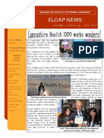 ELCAP E-Newsletter Issue 28 - Oct 2014