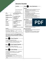 SAP BW - Query Elements Check List