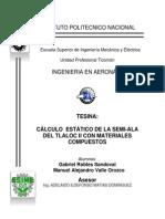 calculo estatico de la semiala del tlaloc 2 con composites.pdf
