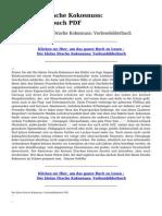 Der Kleine Drache Kokosnuss Vorlesebilderbuch PDF