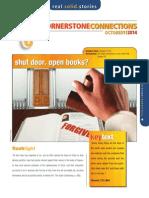 4th Quarter 2014 Cornerstone Connections Lesson 2