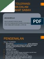Konsep Toleransi Beragama Dalam Masyarakat Sabah